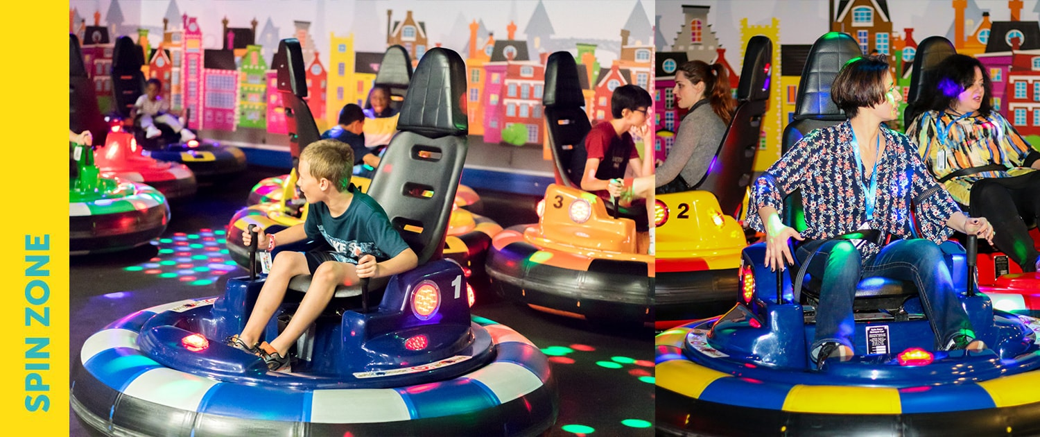 Make Believe Family Fun Center Laser Tag Ropes Course